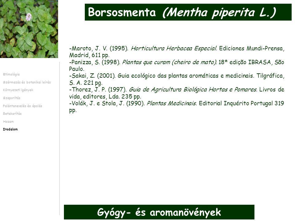 -Maroto, J. V. (1995). Horticultura Herbacea Especial.