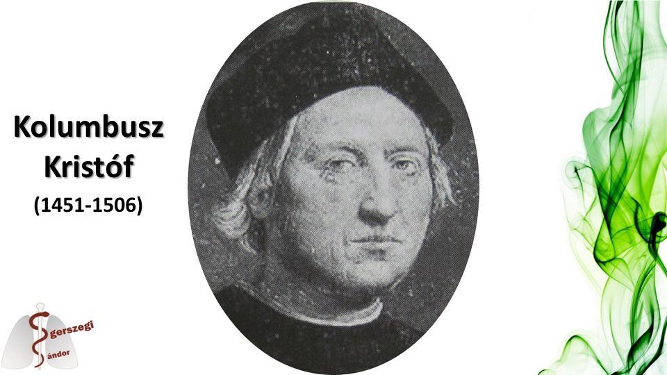 Kolumbusz Kristóf (1451-1506)