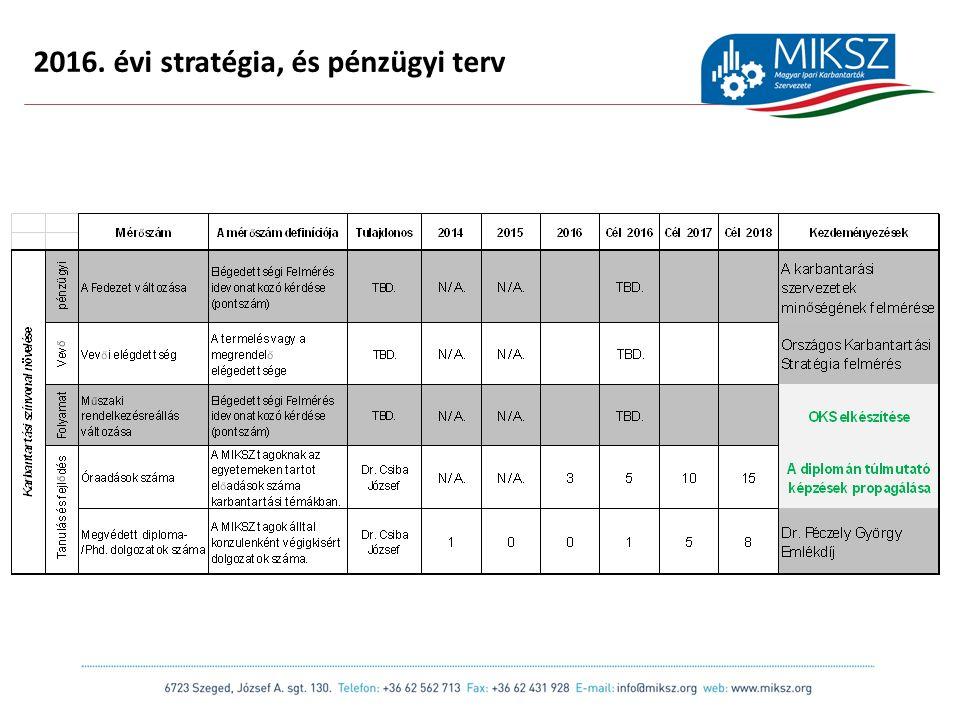 scapackaging.hu 13 2016. évi stratégia, és pénzügyi terv