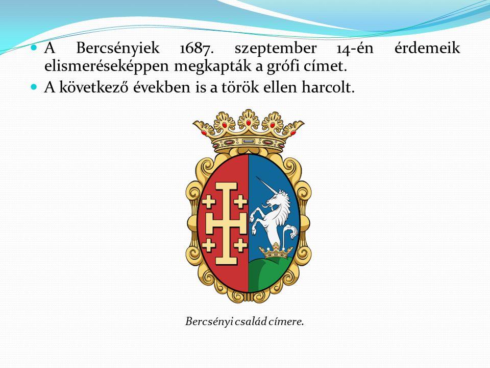 1696-ban ismerkedett meg II.Rákóczi Ferenccel, birtok- szomszédok voltak.