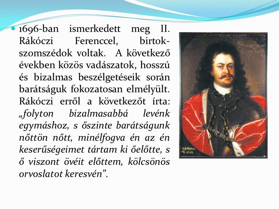 Bercsényi Miklós nevét ma is viseli katonai alakulat és több intézmény, köztük iskolánk is.