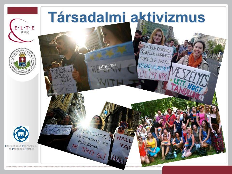 Társadalmi aktivizmus Interkulturális Pszichológiai és Pedagógiai Intézet