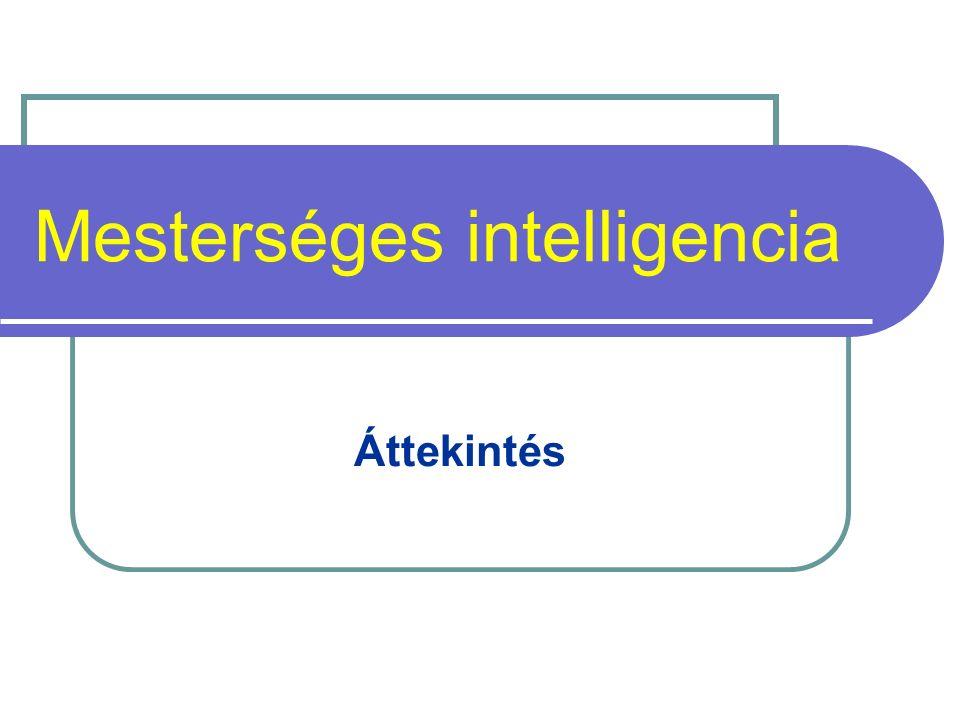 Mesterséges intelligencia Áttekintés