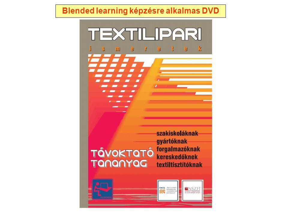Blended learning képzésre alkalmas DVD
