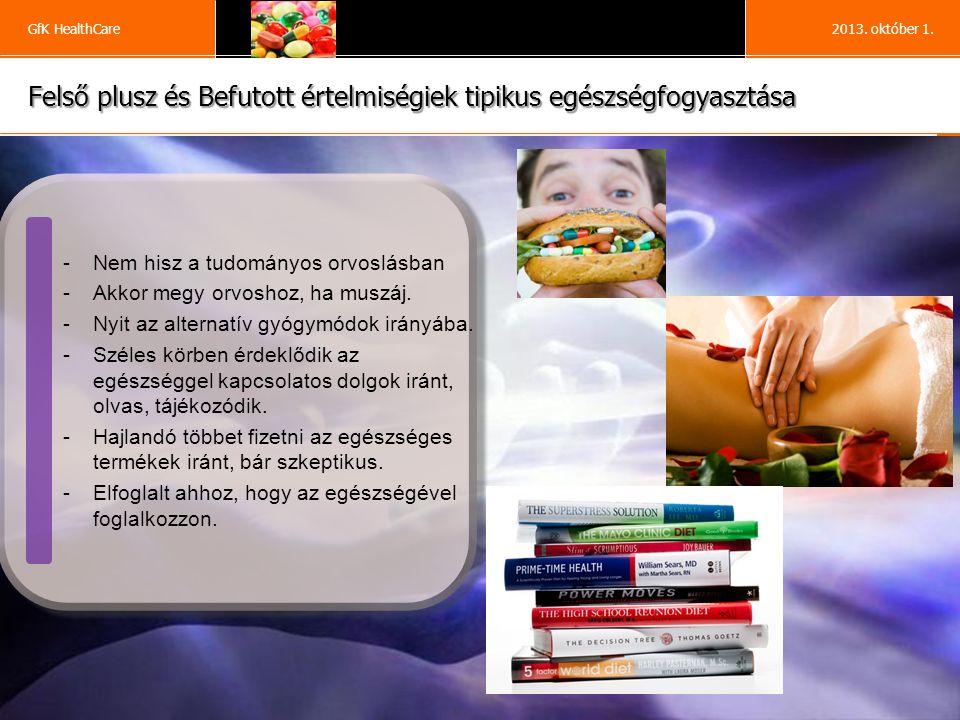 13 GfK HealthCare2013. október 1.