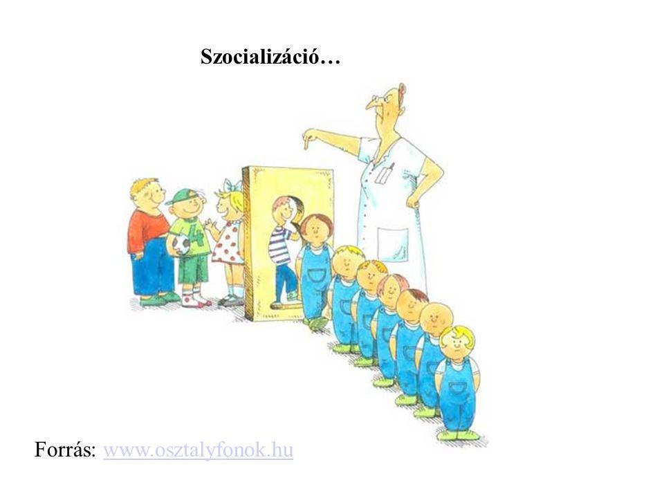 Szocializáció… Forrás: www.osztalyfonok.huwww.osztalyfonok.hu