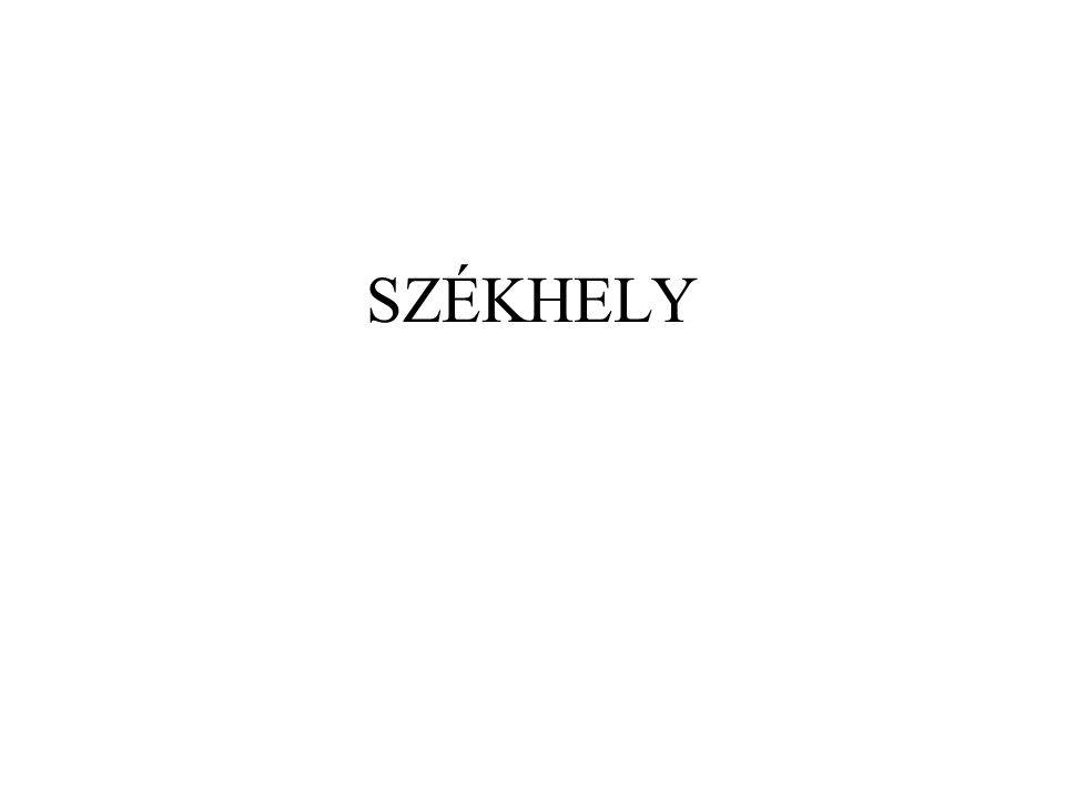 SZÉKHELY