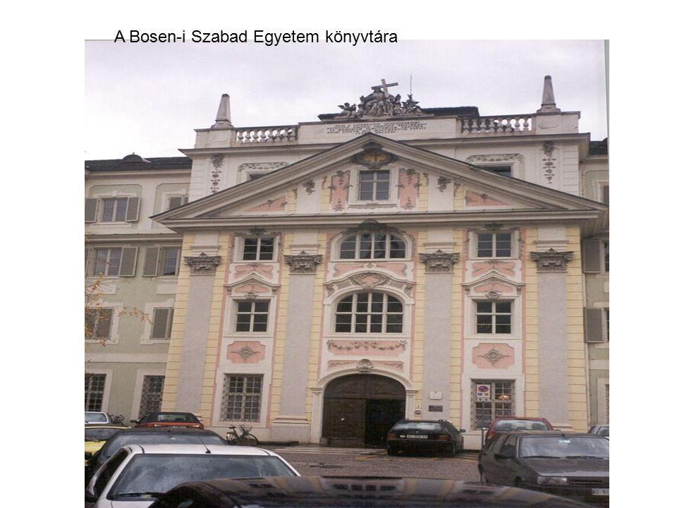 A Bosen-i Szabad Egyetem könyvtára