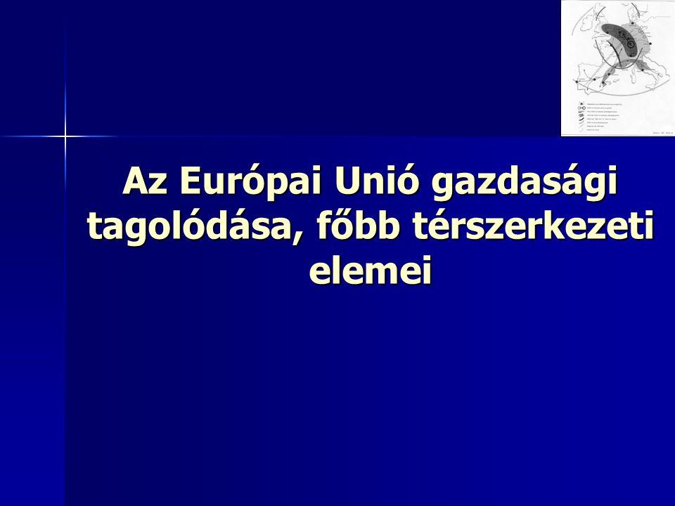 """""""Kék Banán : Európa hagyományos gazdasági gerince Brunet, R."""