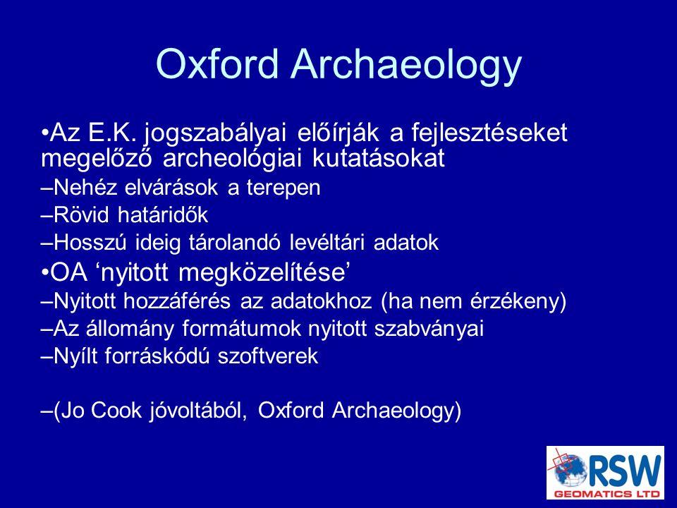 Oxford Archaeology Az E.K.