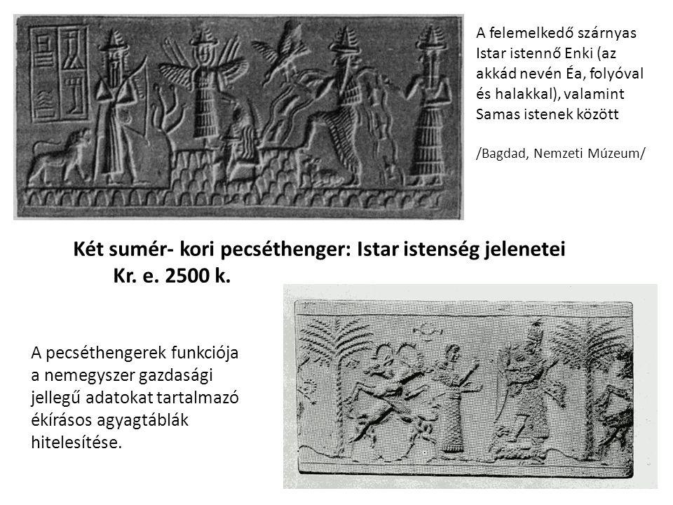 Életnagyságú rézfej.Ninivében találták, de bizonyosan az óakkád korból származik.