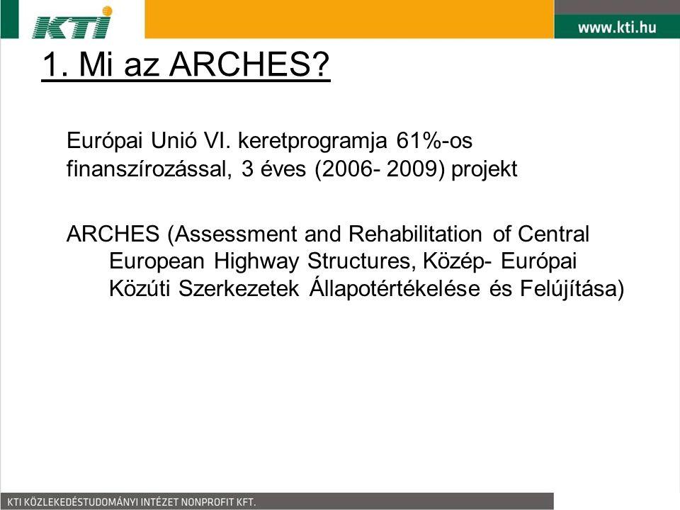 1. Mi az ARCHES. Európai Unió VI.