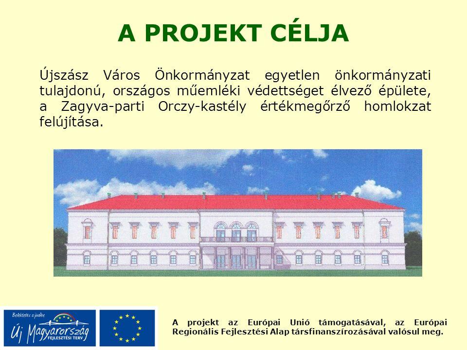 A projekt az Európai Unió támogatásával, az Európai Regionális Fejlesztési Alap társfinanszírozásával valósul meg. A PROJEKT CÉLJA Újszász Város Önkor