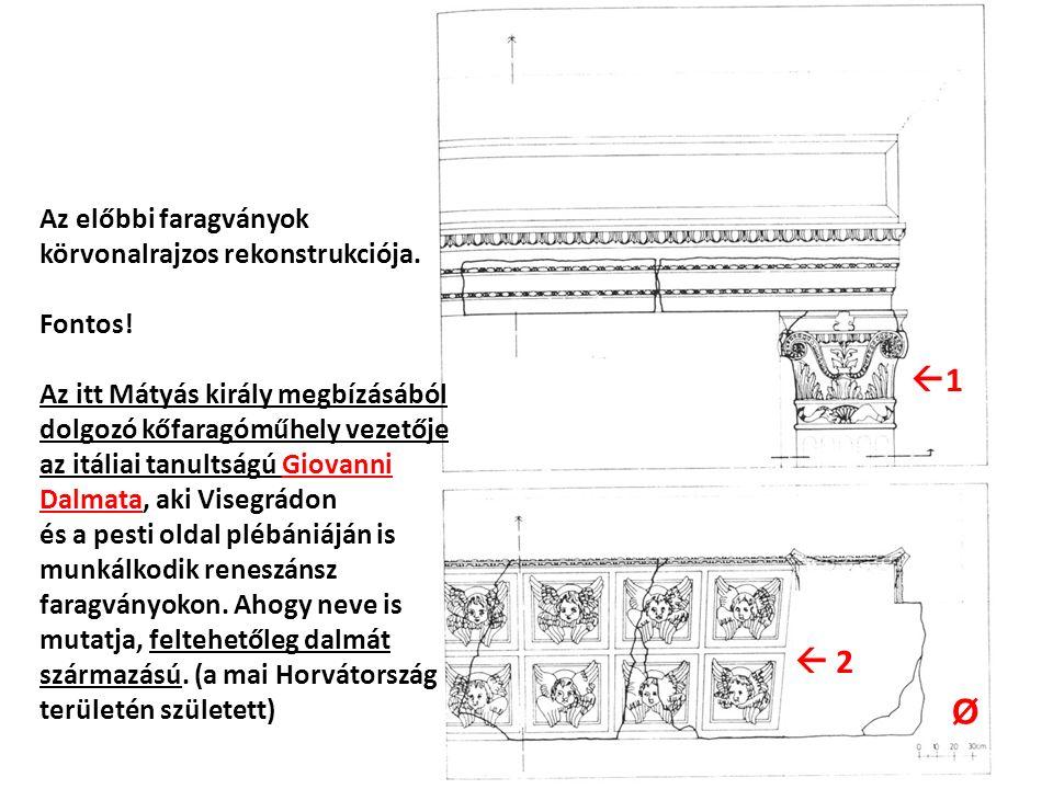 11  2 Az előbbi faragványok körvonalrajzos rekonstrukciója.