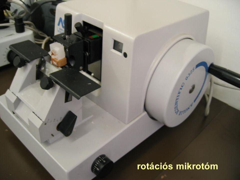 rotációs mikrotóm