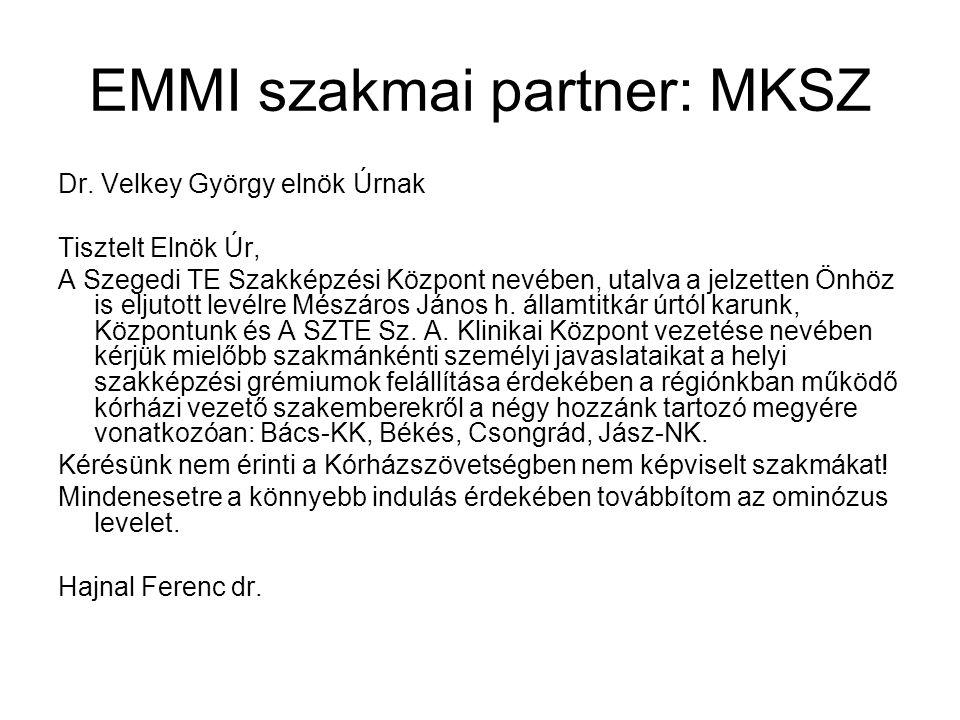 EMMI szakmai partner: MKSZ Dr.