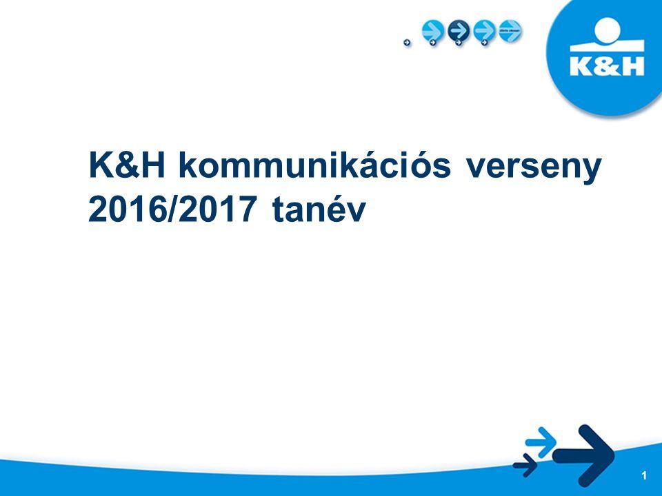 K&H kommunikációs verseny 2016/2017 tanév 1