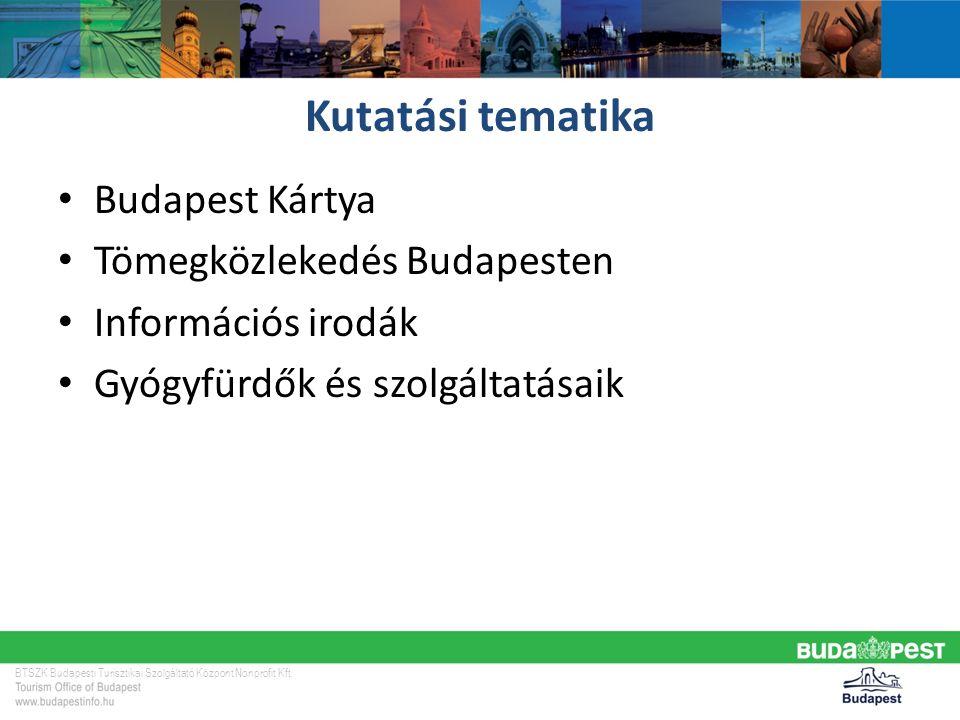 BTSZK Budapesti Turisztikai Szolgáltató Központ Nonprofit Kft.