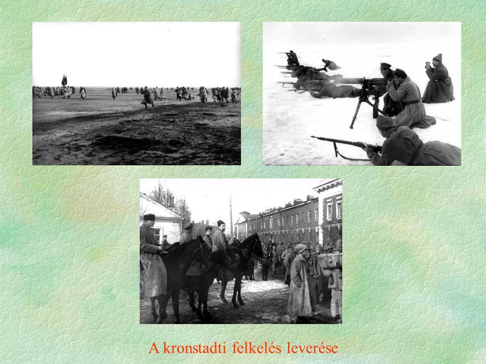 A kronstadti felkelés leverése