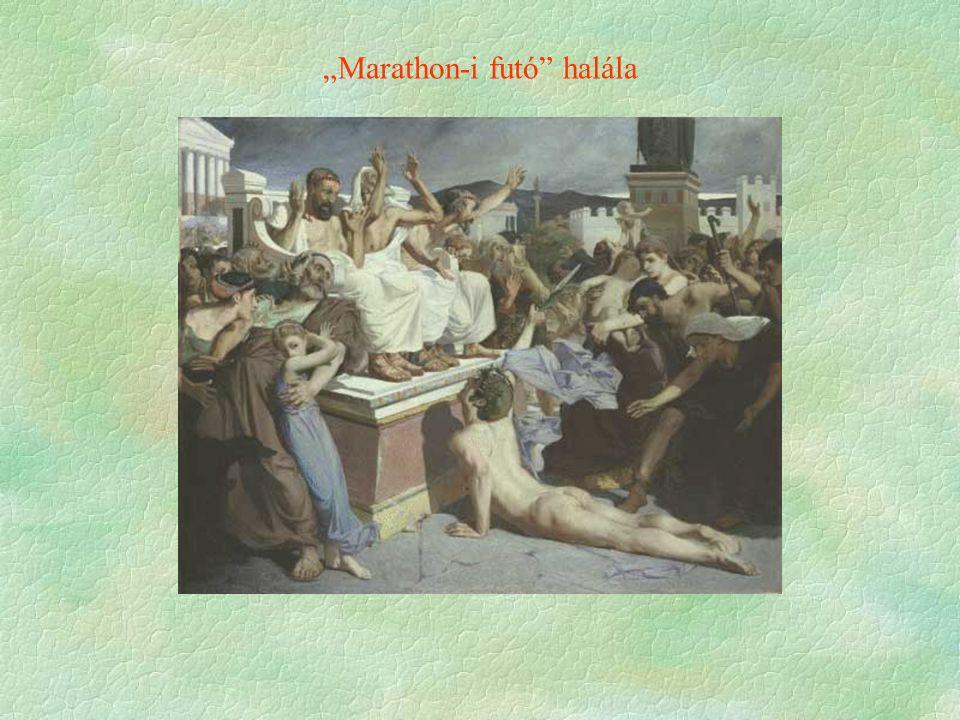 """""""Marathon-i futó"""" halála"""