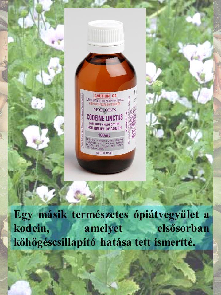 A morfin kémiai átalakítása révén végül egy, annál hatékonyabb vegyülethez jutott a gyógyászat.