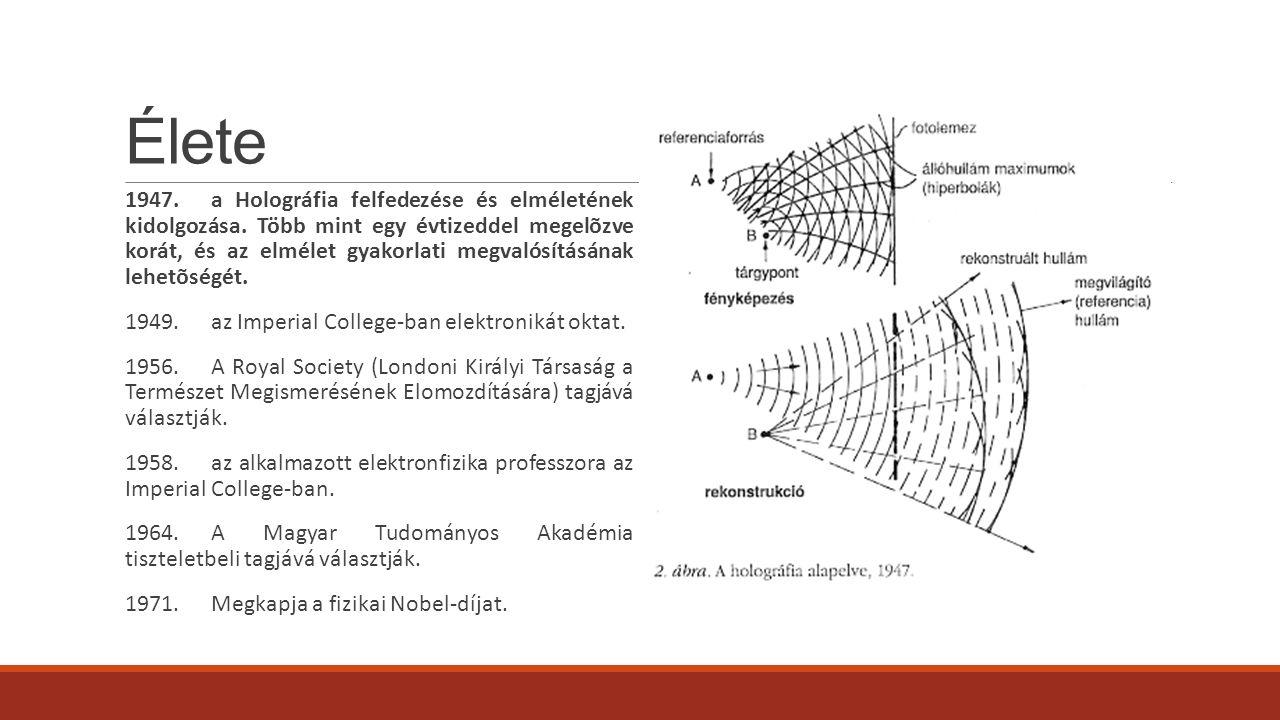 Egyéb kutatási eredményei ◦az elektronmikroszkóp ◦A lézer ◦60 kV-os Oszcilloszkóp ◦kis nyomású neongáz, higanygőz és nátriumgőz plazmaállapotának számos törvényszerűsége ◦a szabad elektronok külső térbeli mozgása ◦az elektron- és ionfizika ◦optika és az információelmélet
