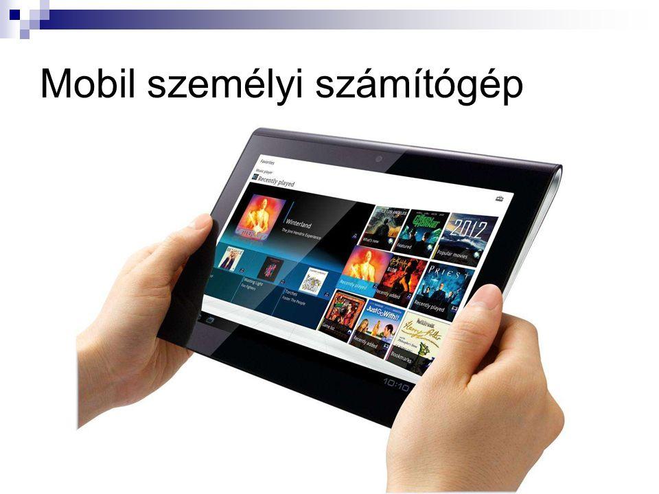 Mobil személyi számítógép