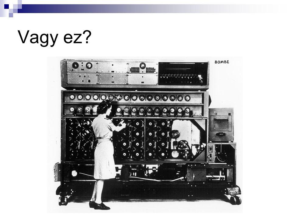 Alapelvek Digitális számítógép