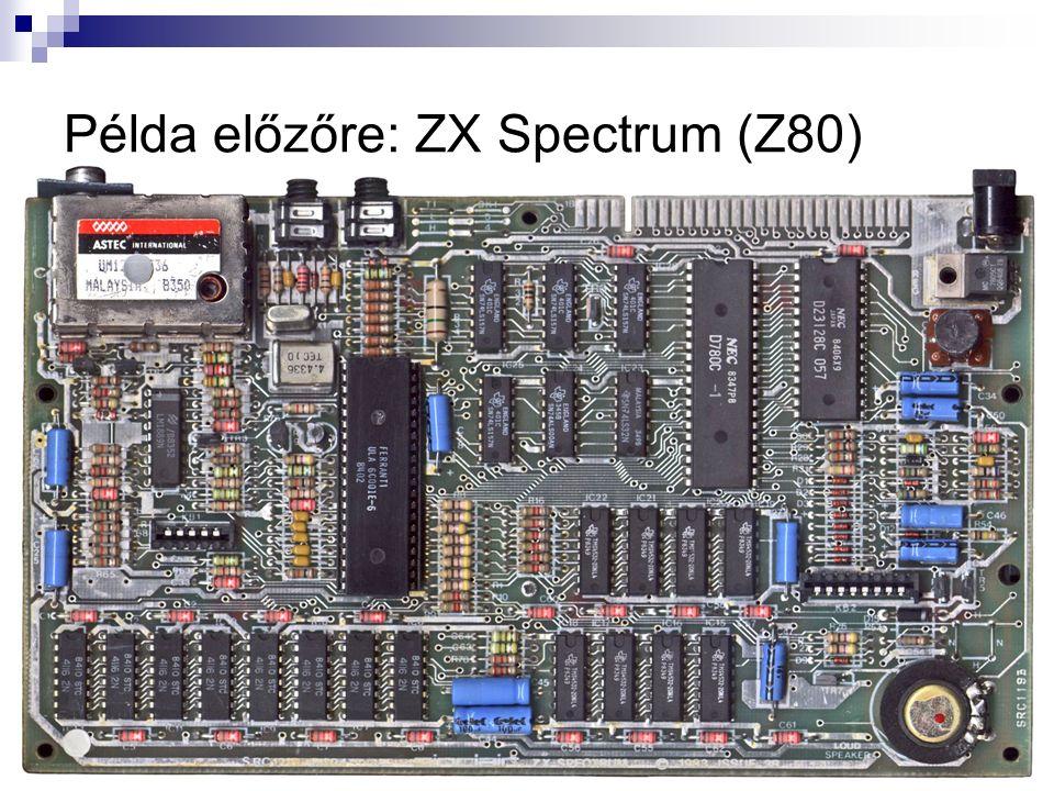 Példa előzőre: ZX Spectrum (Z80)