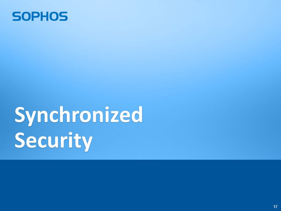 17 Synchronized Security