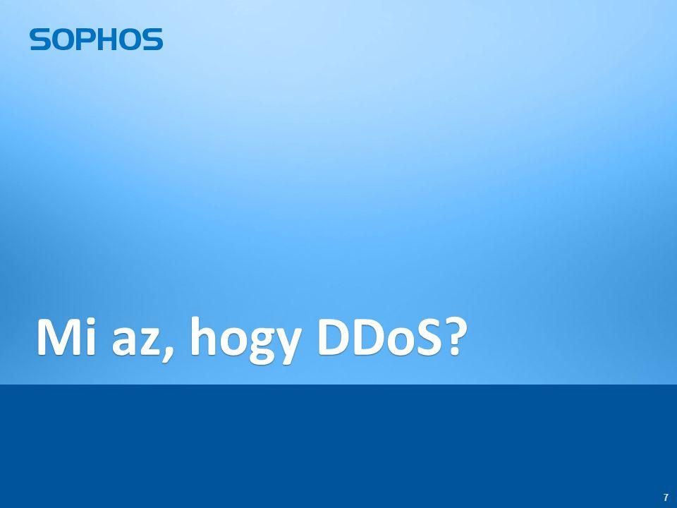 7 7 Mi az, hogy DDoS