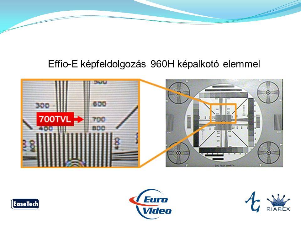 Effio-E képfeldolgozás 960H képalkotó elemmel