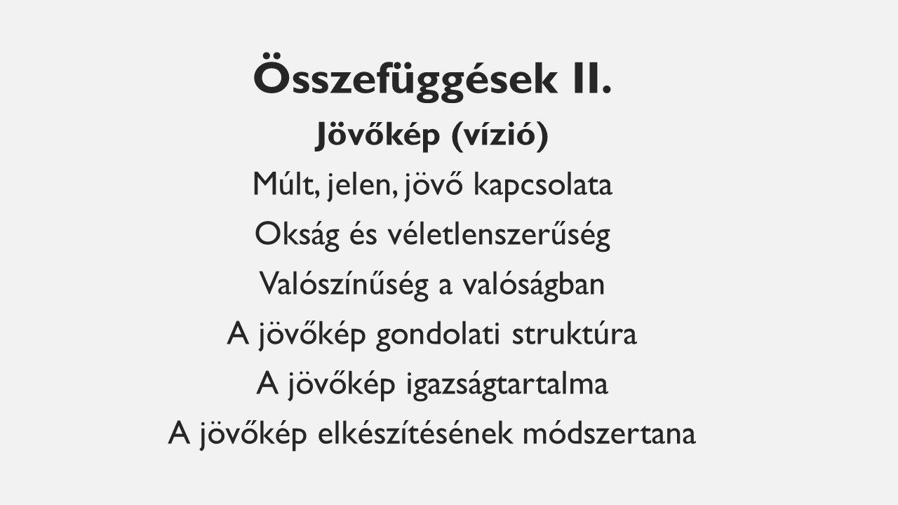 Összefüggések II.