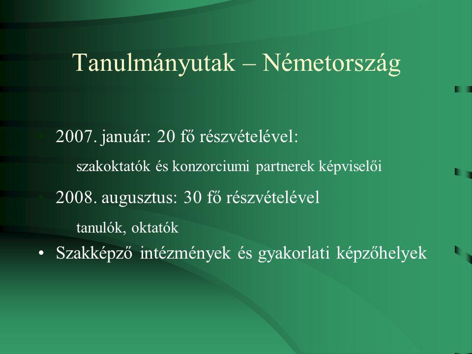 Tanulmányutak – Németország 2007.