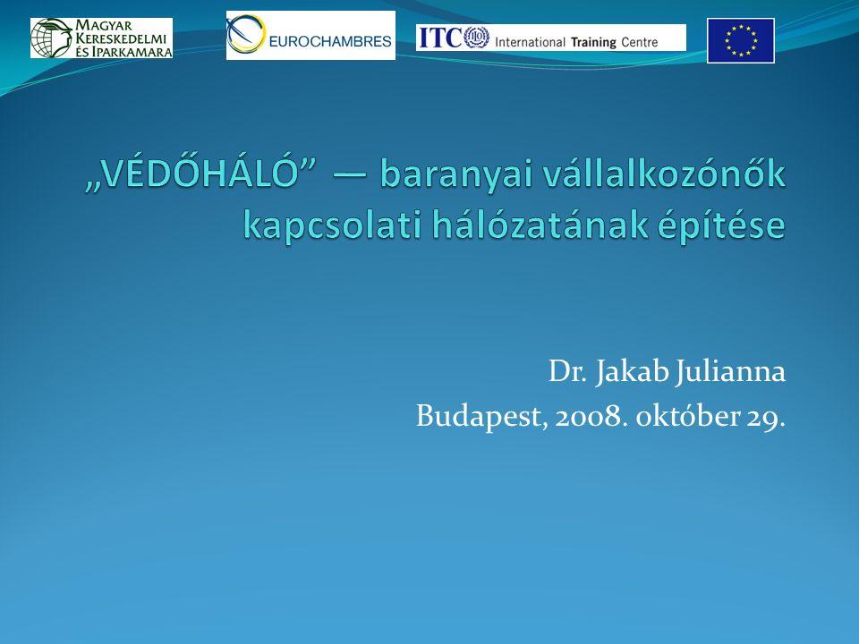 Dr. Jakab Julianna Budapest, 2008. október 29.