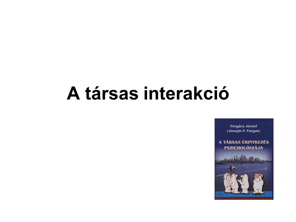 A társas interakció