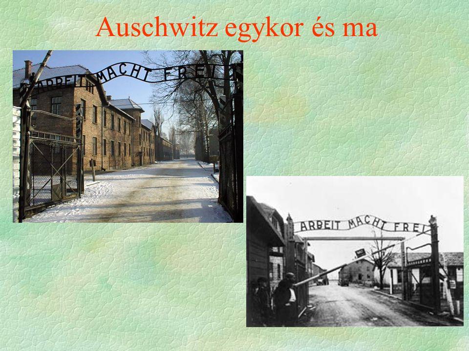 Auschwitz egykor és ma