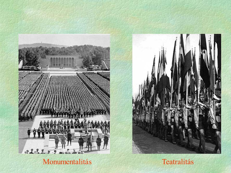Monumentalitás Teatralitás
