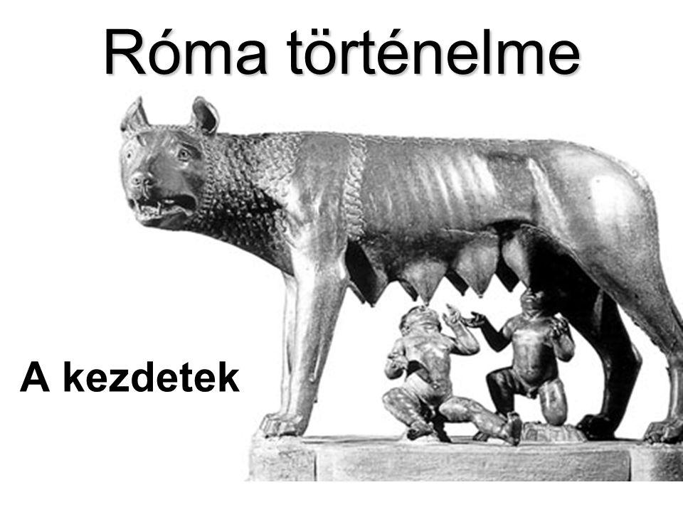 Róma történelme A kezdetek