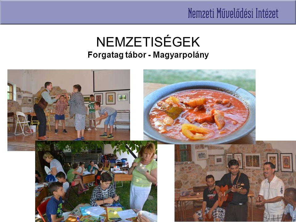NEMZETISÉGEK Forgatag tábor - Magyarpolány