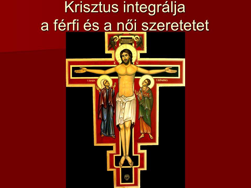 Krisztus integrálja a férfi és a női szeretetet