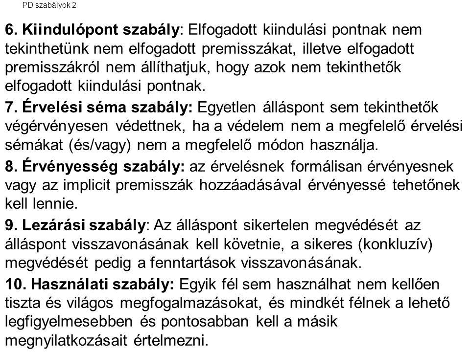 PD szabályok 2 6.