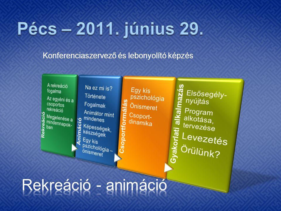 Konferenciaszervező és lebonyolító képzés