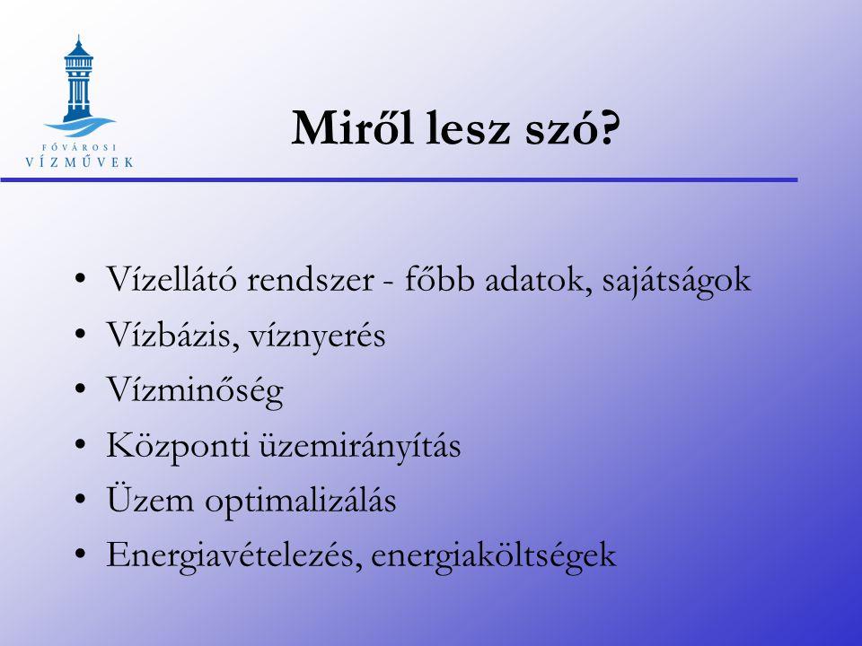 Budapest vízellátása 2007 Dr. Schultz Andrea 2007.09.10.