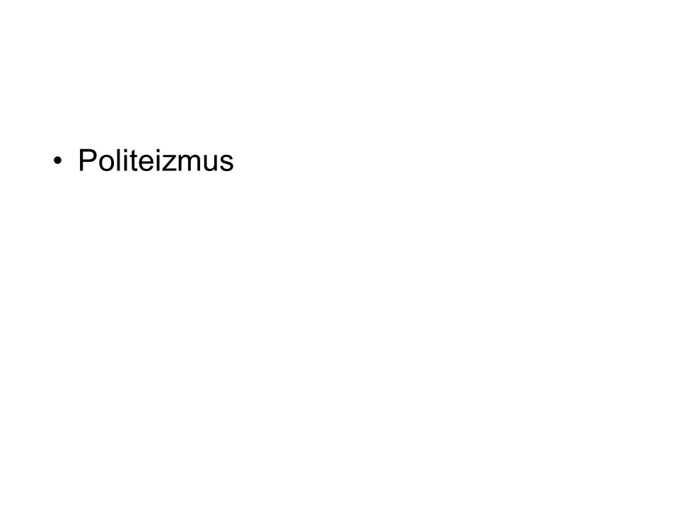 Politeizmus