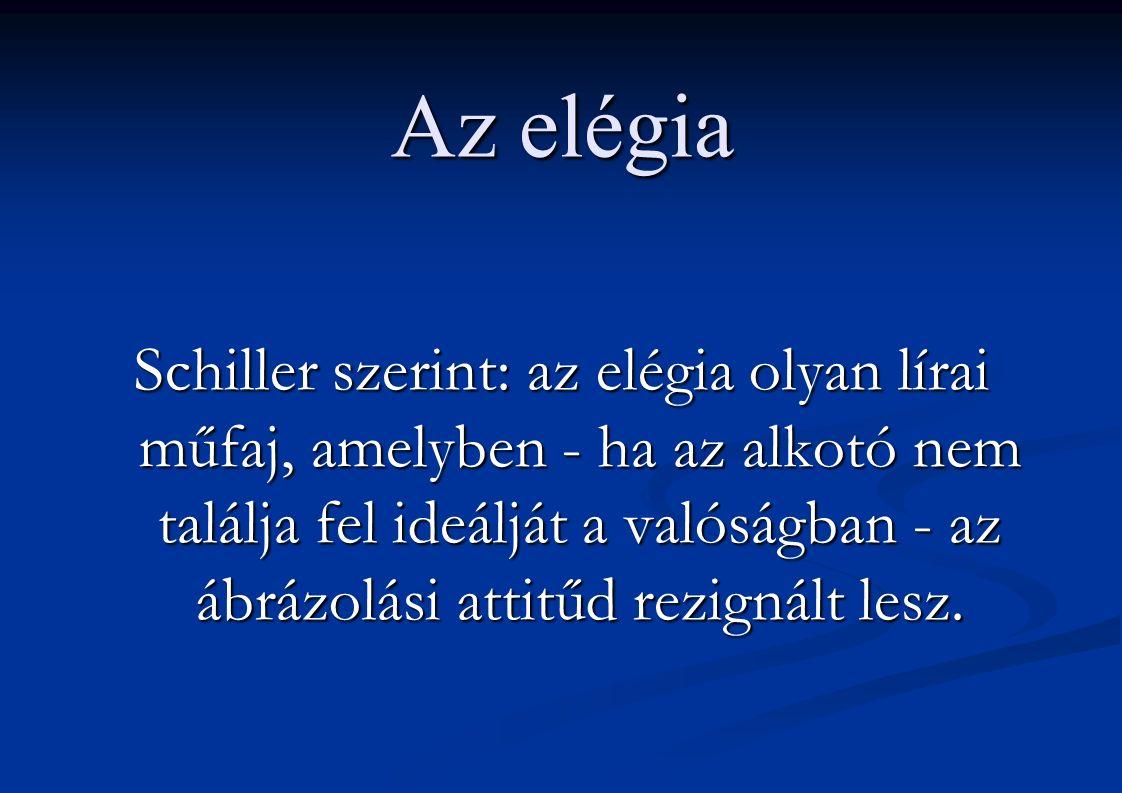 Az epigramma Az epigramma eredetileg sírvers (felirat).