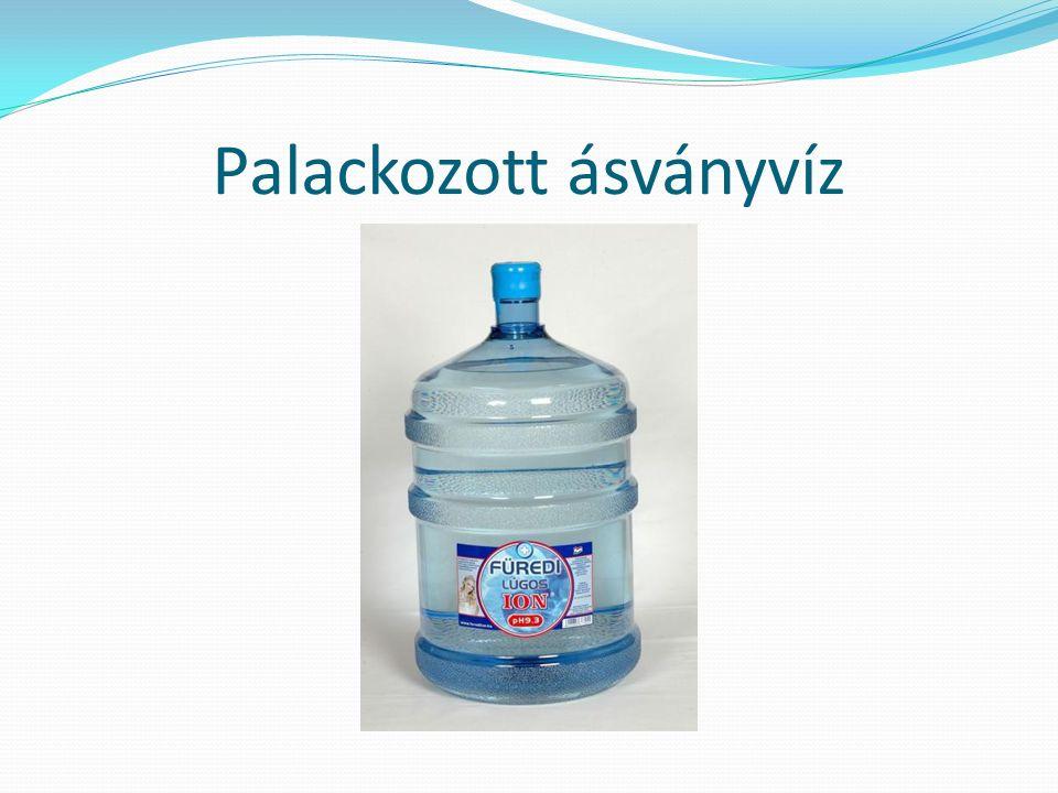 Palackozott ásványvíz