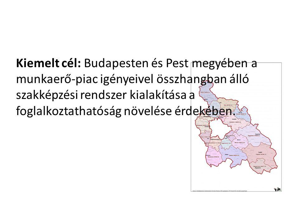 Kiemelt cél: Budapesten és Pest megyében a munkaerő-piac igényeivel összhangban álló szakképzési rendszer kialakítása a foglalkoztathatóság növelése é