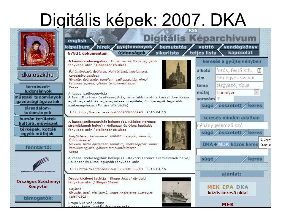 Digitális képek: 2007.