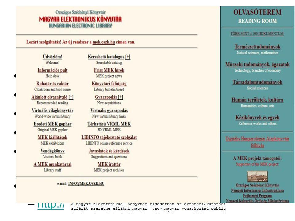 Prezentációk dka.oszk.hu/061000/061013 dka.oszk.hu/061000/061013